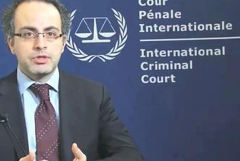 Fadi El-Abdallah, Msemaji wa Mahakama ya Kimataifa ya Uhalifu ICC. Picha@UNIFEED