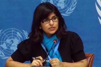 Ravina Shamdasani, Msemaji wa Ofisi ya Haki za Binadamu. Picha: UN Multimedia