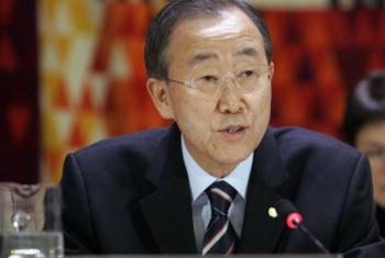 Katibu Mkuu wa Umoja wa Mataifa, Ban Ki-Moon. Picha@