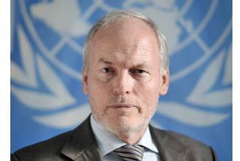 Nicholas Kay, Mwakilishi Maalum wa Umoja wa Mataifa nchini Somalia. Picha@UNSOM