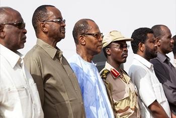 Harakati za ujumwishaji wa JEM-SUDAN kwenye jeshi la kitaifa nchini Sudan El Fasher Kaskazini mwa Darfur.Picha@Photo by Hamid Abdulsalam, UNAMID.
