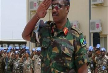 Mkuu wa kikosi cha UNAMID Luteni Jenerali Paul Mella. (Picha:Sojoud Elgarrai UNAMID).
