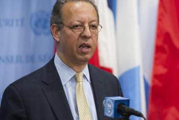 Katibu Mkuu wa Umoja wa Mataifa kuhusu Yemen Jamal Benomar. Picha: