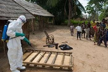 Harakati za kudhibiti Ebola nchini Guinea-Conakry. Picha @WHO