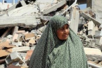Uharibifu uliotokana na mashambulizi huko GAza: Picha ya @UNRWA