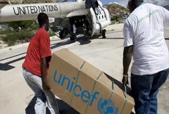 Wafanyakazi wa usaidizi wa kibinadamu.Picha@UN(videocapture)