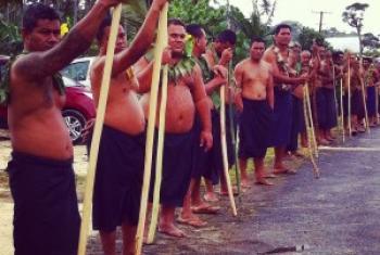 WAnakijiji wa Samoa. (Picha:Daniel Dicknson)