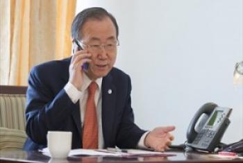 Katibu Mkuu wa UM Ban Ki-Moon. (Picha-Maktaba-UM)