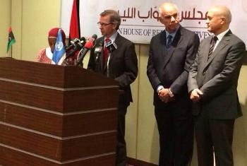Bernadino Leon, Mkuu wa Ujumbe wa Mataifa nchini Libya UNSMIL,