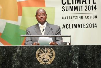 Yoweri Museveni, rais wa Uganda,