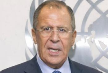 Waziri wa mambo ya nje wa Urusi Sergey V. Lavrov,