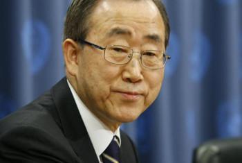 Katibu mkuu Ban Ki-moon. Picha: