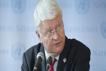 Mkuu wa operesheni za ulinzi wa amani za Umoja wa Mataifa Hervé Ladsous. (Picha:UN/Eskinder Debebe)