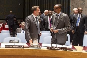 Rais wa Jamhuri ya Rwanda, Paul Kagame.Picha ya UN /Mark Garten