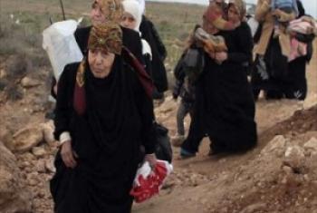 Wakimbizi wanawake wa Syria.Picha ya UNHCR/N. Daoud