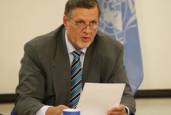 Ján Kubiš.Picha ya UNAMA