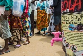 WFP inatoa mgao wa chakula katika maeneo yaliyoathirika na ebola.Picha@WFP