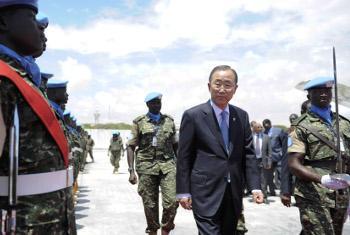 Katibu Mkuu wa Umoja wa Mataifa Ban Ki-moon.(