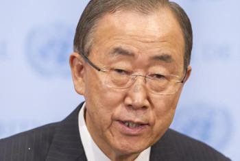 Ban Ki-moon, Katibu Mkuu wa Umoja wa Mataifa. Picha:
