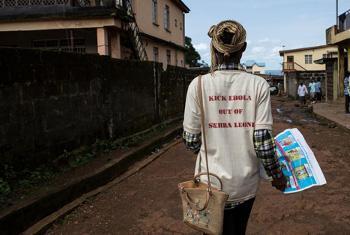 Ebola Sierra Leone. Picha: UNICEF/NYHQ2014-1586/BINDRA
