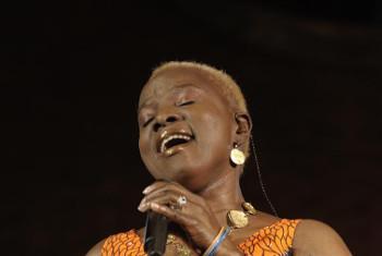 Angelique Kidjo, Balozi mwema wa UNICEF. Picha: