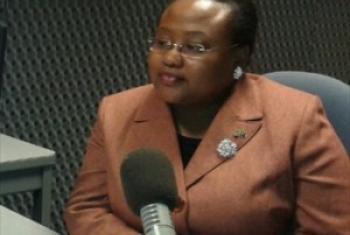Naibu Waziri wa Maendeleo ya Jamii, Jinsia na Watoto wa Tanzania, Dkt. Pindi Chana. (Picha:UN/Idhaa ya Kiswahili)