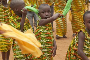 Sherehe ya Siku ya Umoja wa Mataifa Bonoua, Ivory Coast. Picha: