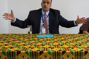 Ismail Ould Cheikh Ahmed, mkuu mpya wa UNMEER. Picha ya UNMEER