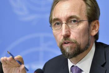 Kamishna Mkuu wa haki za binadamu Zeid Ra'ad Al Hussein. (Picha:UN /Jean-Marc Ferré)