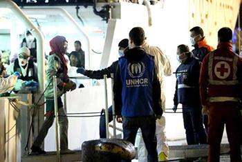 Wakimbizi waliovuka bahari Mediterranean. (Picha:UNHCR/F.Malavolta)
