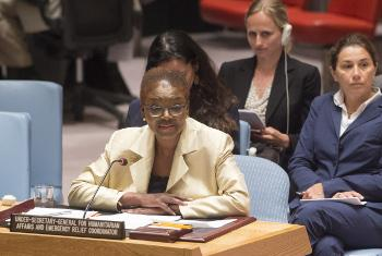 Mratibu Mkuu wa masuala ya kibinadamu na misaada ya dharura, Valerie Amos.(Picha ya UM/Eskinder Debebe)