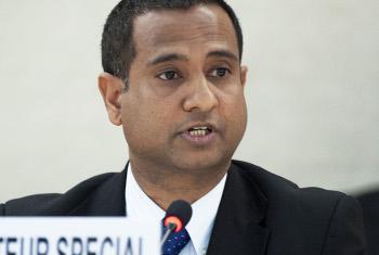 Mtaalam Maalum wa Umoja wa Mataifa Ahmed Shaheed.(Picha:Jean-Marc Ferré)