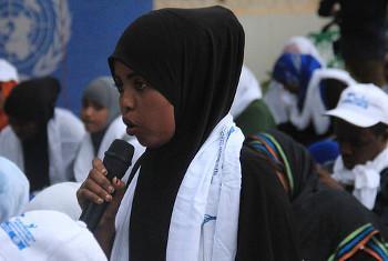 Uhuru wa vyombo vya habari ni moja ya haki ambazo zinapaswa kuheshimika zaidi nchini Somalia. Picha ya UNSOM.