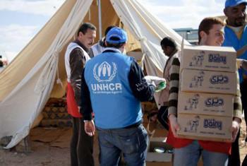 Wakimbizi nchini Libya(Picha:UNHCR)