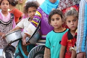 Watoto nchini Iraq (Picha MAKTABA© UNICEF/NYHQ2015-1035/Khuzaie)
