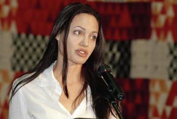Angelina Jolie. Picha:UN / Eskender Debebe
