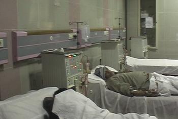 Wagonjwa wa Hepatitis C nchini Misri. Picha kutoka video ya UNIFEED.