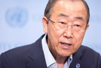 Katibu Mkuu Ban Ki-moon. Picha ya UM/Eskinder Debebe (Maktaba)