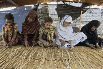 Watoto nchini Mauritania.(Picha:UM/Jean Pierre Laffont)