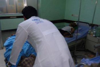 Utoaji huduma za afya nchini Yemen.(Picha:MAKTABA: WHO/Yemen)