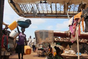 Wimbi la wakimbizi wa Jamhuri ya Afrika ya kati.(Picha:UM/OCHA/Gemma Cortes)
