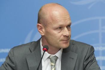 Jens Laerke, Msemaji wa OCHA. Picha: