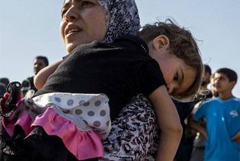 Ufadhili mwingi wahitajika kusaidia wakimbizi wa Syria, lakini pia kwa ajili ya shughuli za maendeleo. Picha ya UNHCR/O.Laban-Mattei
