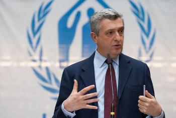 Filippo Grandi, mkuu wa UNHCR. Picha ya UNHCR/S. Hopper