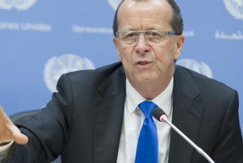 Mkuu wa Ujumbe wa Umoja wa Mataifa nchini Libya, Martin Kobler.(Picha:UM/Manuel Elías)