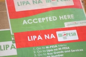 M-pesa.(Picha:Video capture/World Bank)