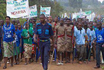 Maandamano dhidi ya ukeketaji Tanzania. Picha: UNFPA / Mandela Gregoire
