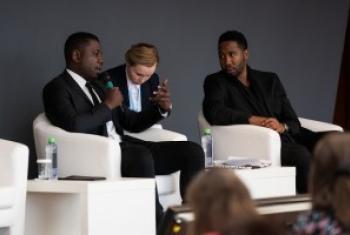 Ndaba & Kweku Mandela/ Picha na UNAIDS