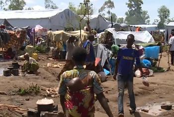 Wakimbizi kutoka Burundi waliopo Rwanda. Picha kutoka video ya UNHCR.