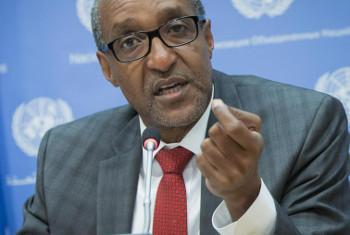 Balozi Macharia Kamau. (Picha:: UN /Manuel Elias)
